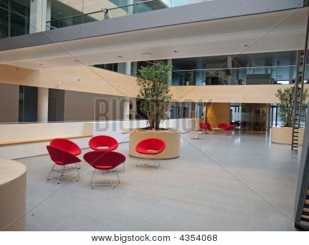 Modern Waiting Room Reception