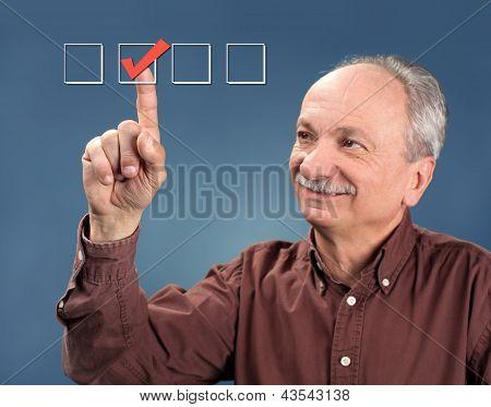 Old Man Votes