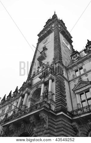 Rathaus (city Hall) In Hamburg