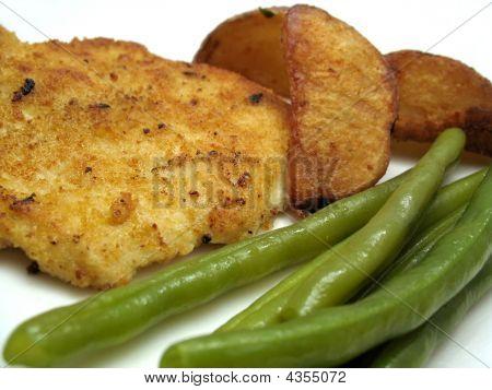 Breaded Turkey Dinner