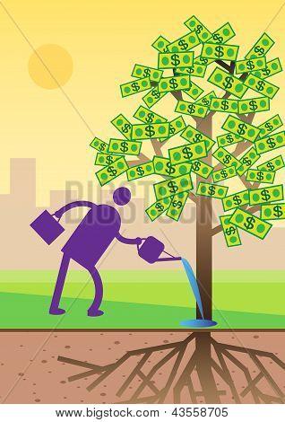 Dollar Investment Tree