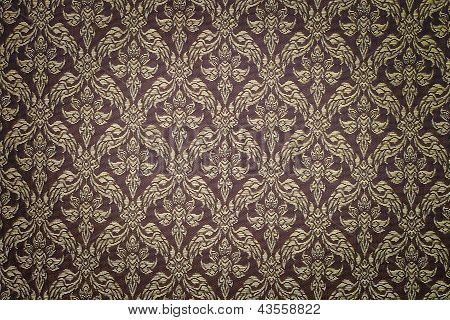 Pattern Of Thai Hand Made Fabric