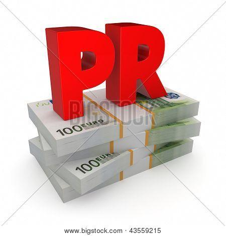 Concepto de PR.