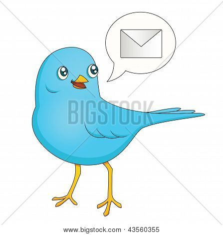 Blue Bird Message