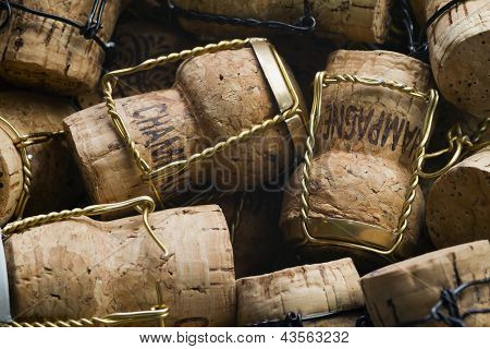 Corchos de champán
