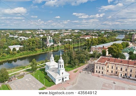 Vologda Bird's Eye View