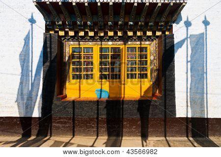 Prayer Flags Pemayagtse Monastery Pelling Sikkim