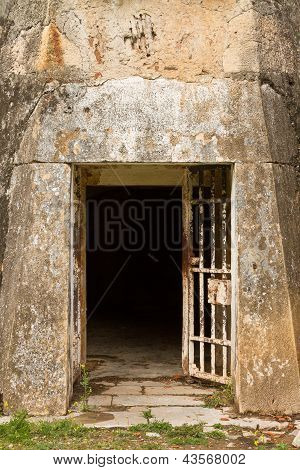 Ancient Facade Door