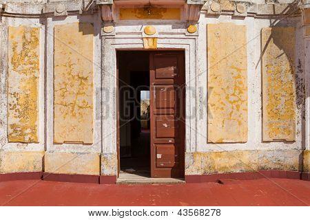 Ancient Facade Entrance