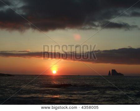 Sunset In The Galapagos Iii