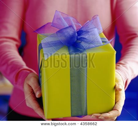 Hand And Gift