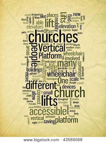 Vertical Platform Lifts in Church