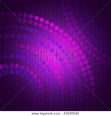 Abstract Purple Background With Circles