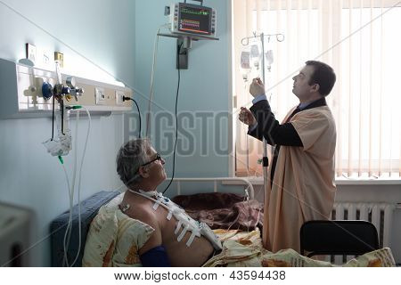 Nurse Boy With Patient