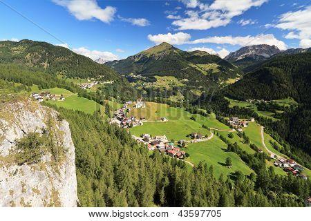Cordevole Valley With Laste