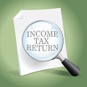 Examining An Income Tax Return