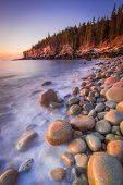 Otter Cliffs and Boulder Beach - Acadia National Park