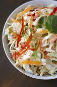 picture of rebs  - A bowl of cilantro lime cole slaw - JPG