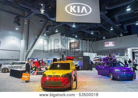 Sema Car Show 2013