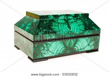 Malachite Treasure-box