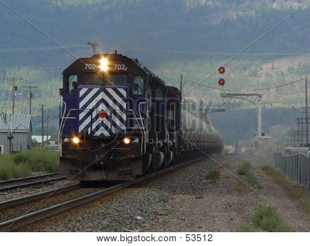 MRL 702 Eastbound Train