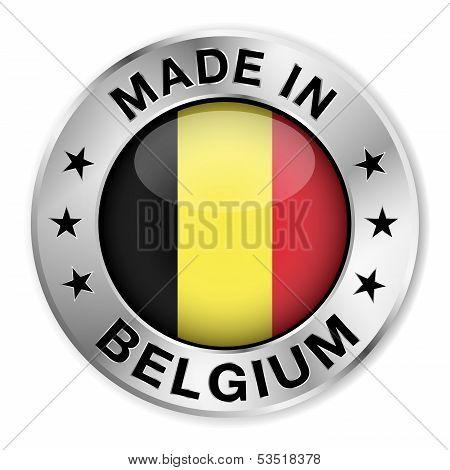 Made In Belgium Silver Badge