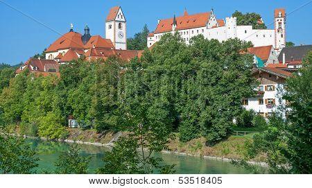 Fuessen,Allgaeu,Bavaria Germany