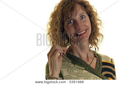 Attractive Middle Aged Professional Woman