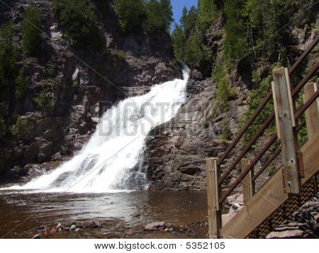 Caribou River Waterfalls