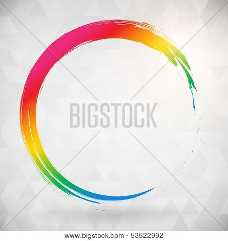 Vibrat Color Abstract Background
