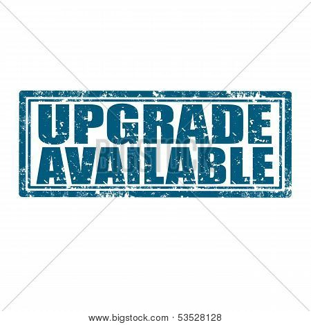 Upgrade Available-stamp