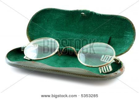 Old Glasses With Case