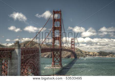 Golden Gate Bridge HDR San Francisco