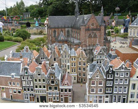 Madurodam in the The Hague, Netherlands