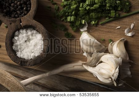 Salt And Garlic