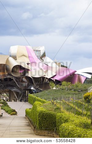 Hotel Marques De Risca By Frank Gehry