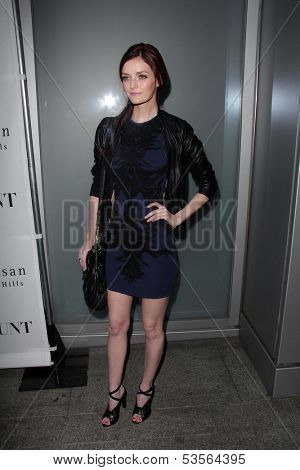 LOS ANGELES - NOV 7:  Lydia Hearst at the Flaunt Magazine November Issue Party at Hakkasan on November 7, 2013 in Beverly Hills, CA\