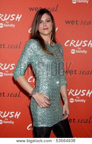 LOS ANGELES - NOV 6:  Lindsey Shaw at the CRUSH by ABC Family Clothing Line Launch at London Hotel on November 6, 2013 in West Hollywood, CA