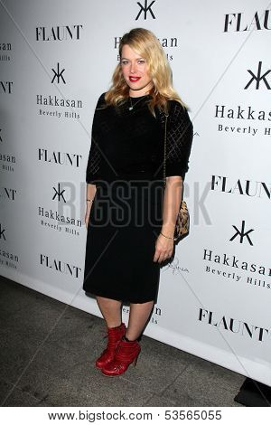 LOS ANGELES - NOV 7:  Amanda De Cadenet at the Flaunt Magazine November Issue Party at Hakkasan on November 7, 2013 in Beverly Hills, CA\