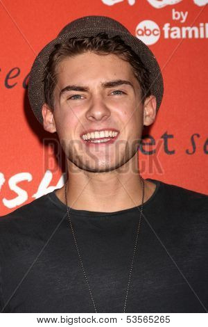 LOS ANGELES - NOV 6:  Cody Christian at the CRUSH by ABC Family Clothing Line Launch at London Hotel on November 6, 2013 in West Hollywood, CA