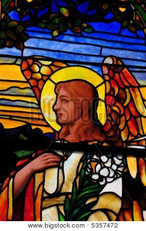 Angel Stain Glass1