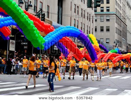 Nyc Pride March On June 28, 2009