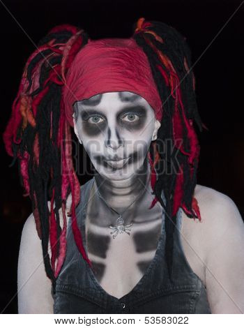 Voodoo Skeleton Goddess