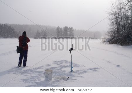 Photographing The Snow