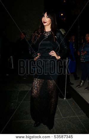 NEW YORK- NOV 6: Actress Jackie Cruz attends a screening of 'Thor' at the Crosby Street Hotel on November 6, 2013 in New York City.