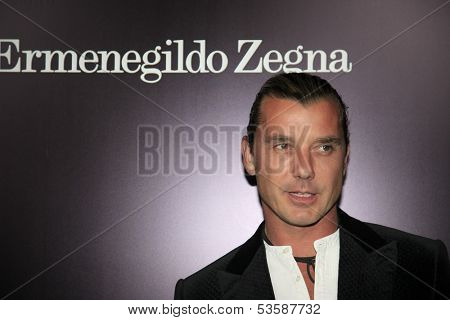 LOS ANGELES - NOV 7:  Gavin Rossdale at the Ermenegildo Zegna Global Store Opening at Ermenegildo Zegna Boutique on November 7, 2013 in Beverly Hills, CA