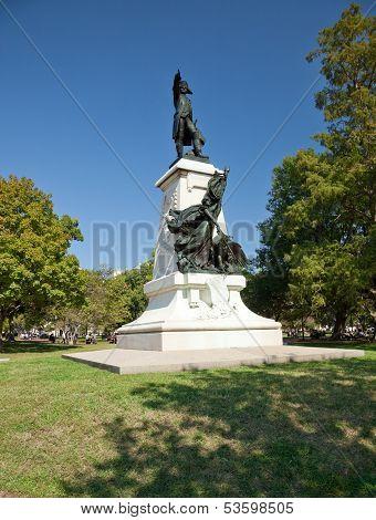 Statue Of Rochambeau In Lafayette Park, Washington D.c.