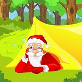 picture of nomads  - Cartoon Character Santa Claus - JPG