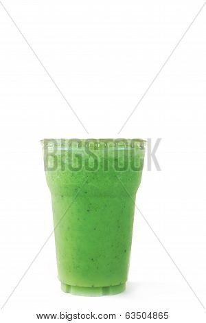 Pennywort Or Asiatic Herbal Smoothie,