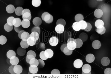 blurred christmas tree lights.